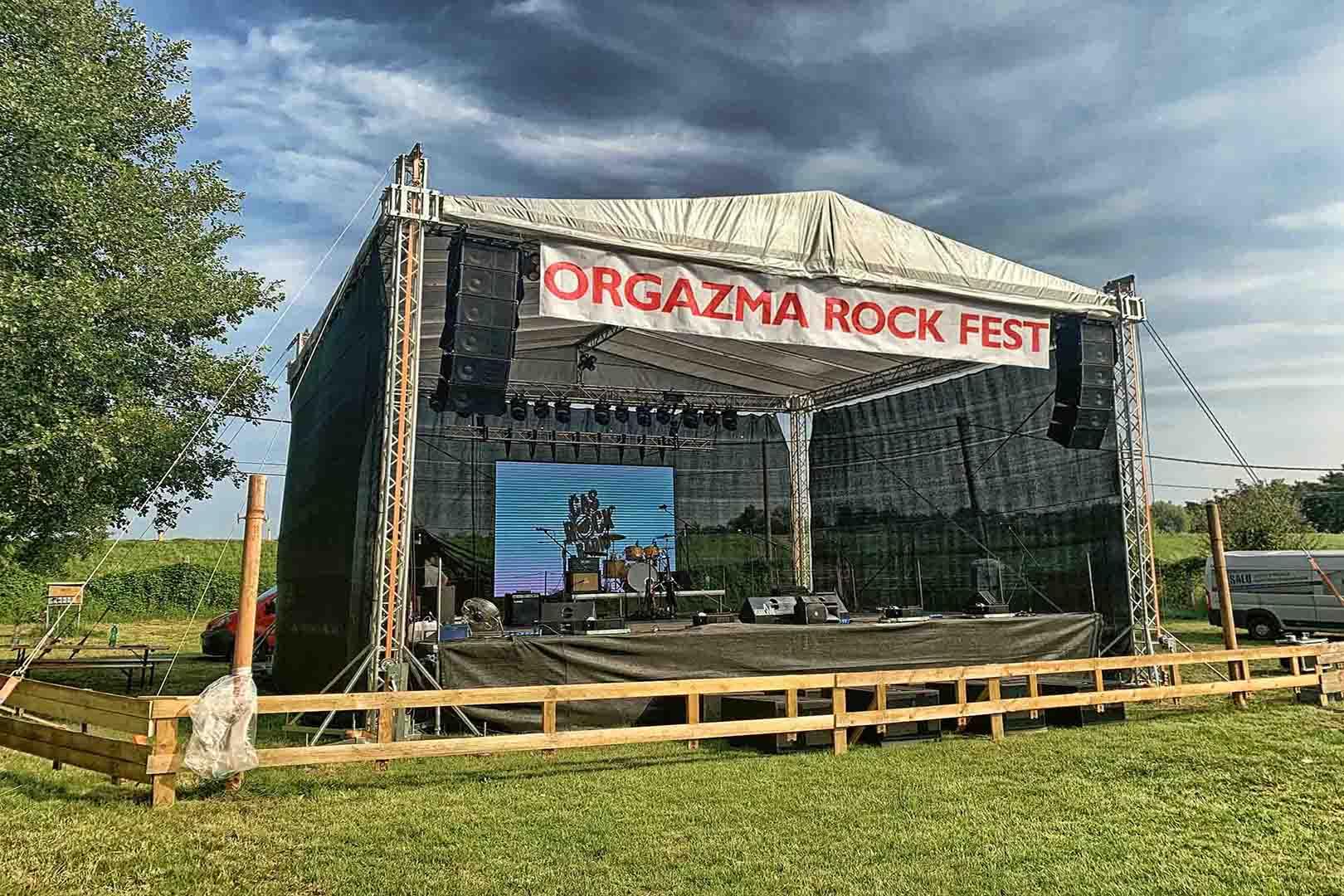 OrgazmaRock - Ozvučení a osvětlení akcí - GM Live - 9. 7. 2019 -